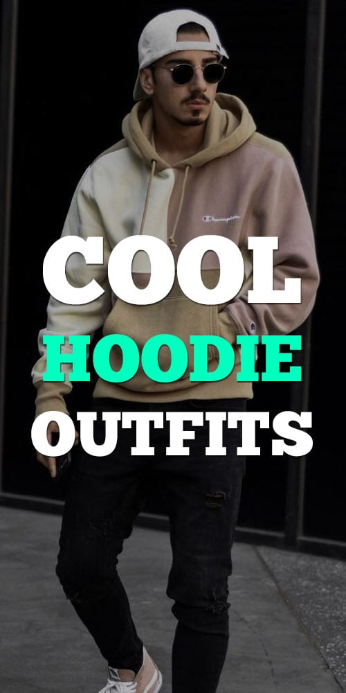 Street Style Hoodie Outfits for Men