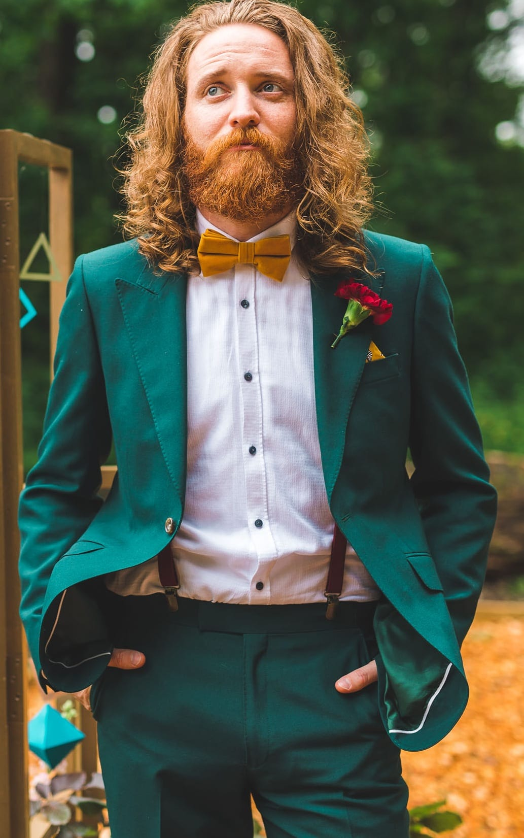Green Wedding Suit Ideas for Men 2019