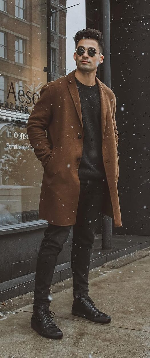 overcoat jacket for men