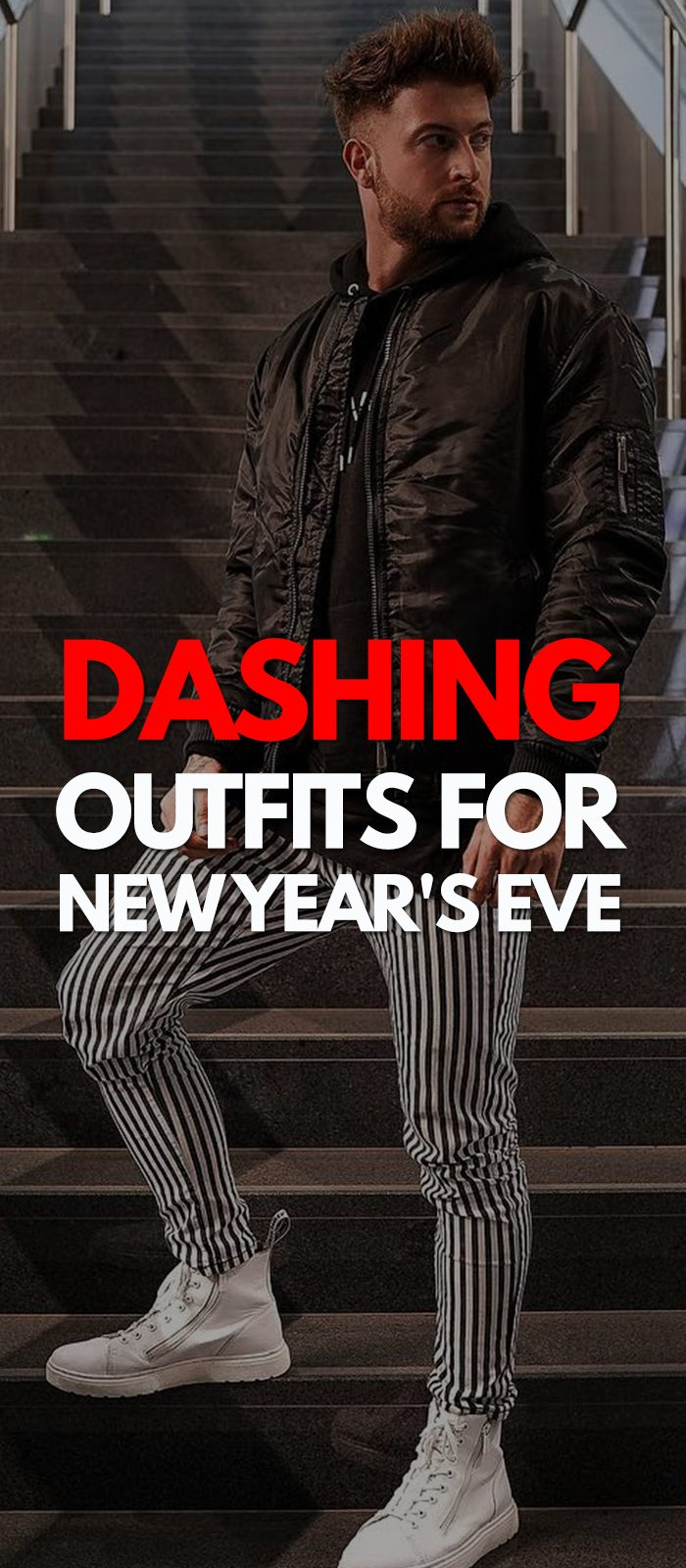 Dashing New Year Party Outfits for Men