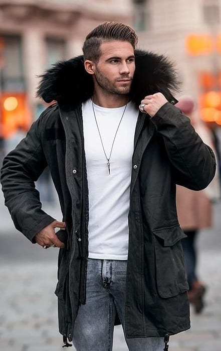 Black Parka You Must Have this Winter Season