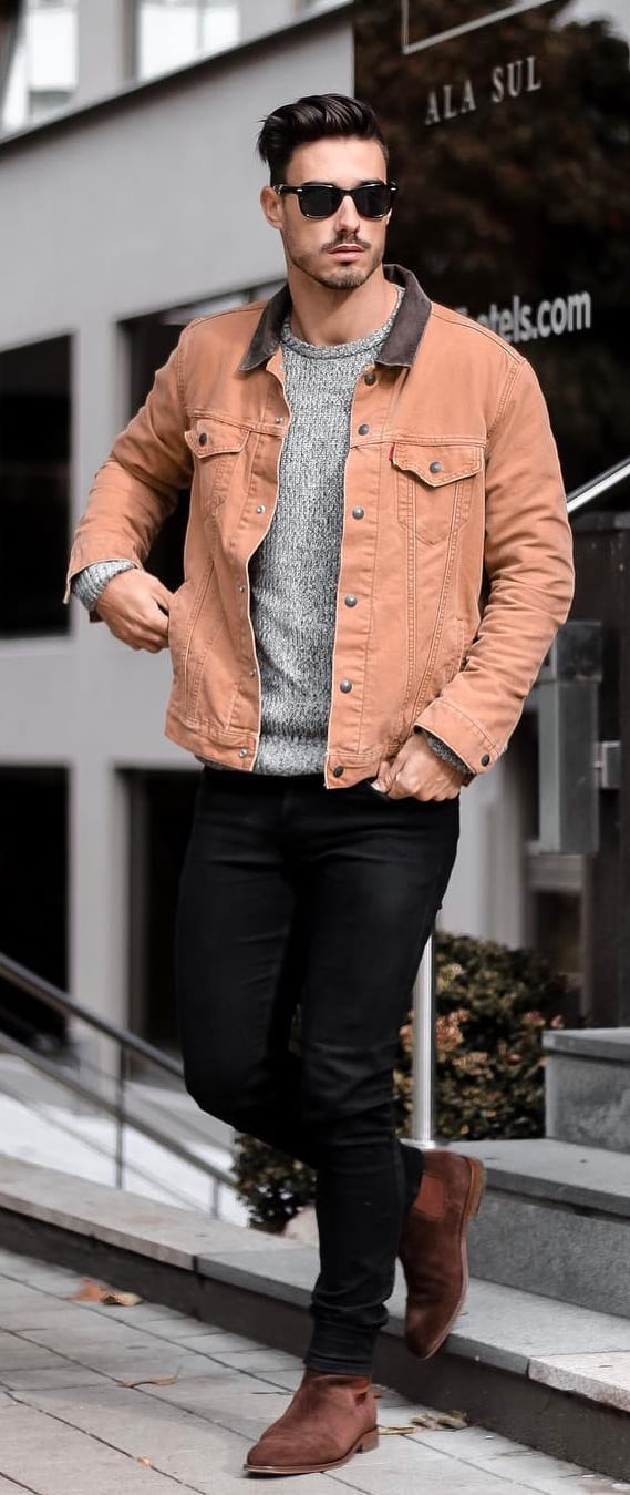 Brown-Denim-Jacket