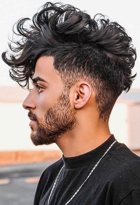 Men's Sexy Hairstyle for New Year's Eve