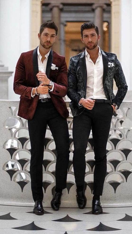 New Year Party Outfit Ideas for Men