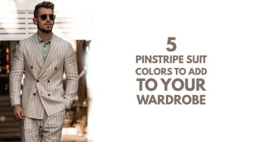 Pinstripe Suit Colors to Add to Your Wardrobe
