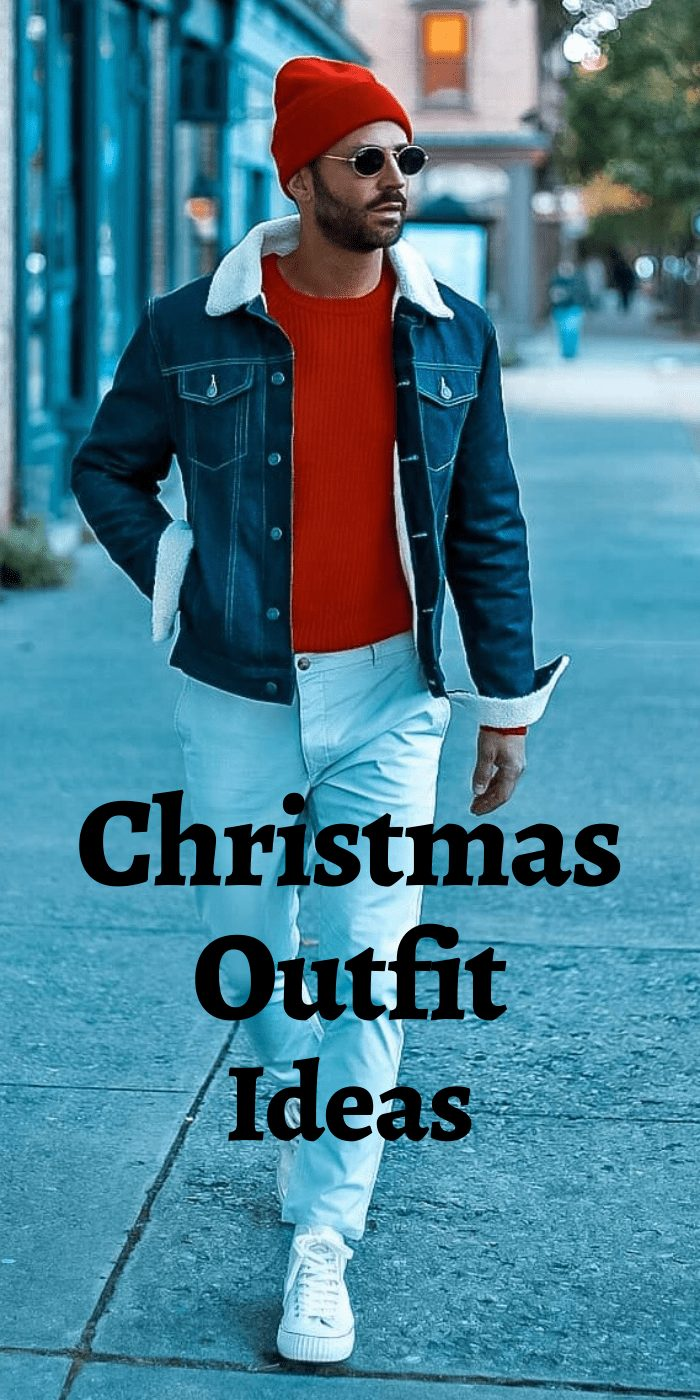 Christmas Outfit Ideas for Men
