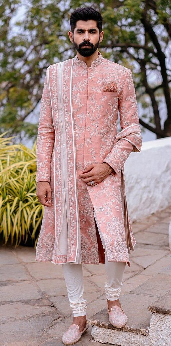 Indian Groom designer Sherwani