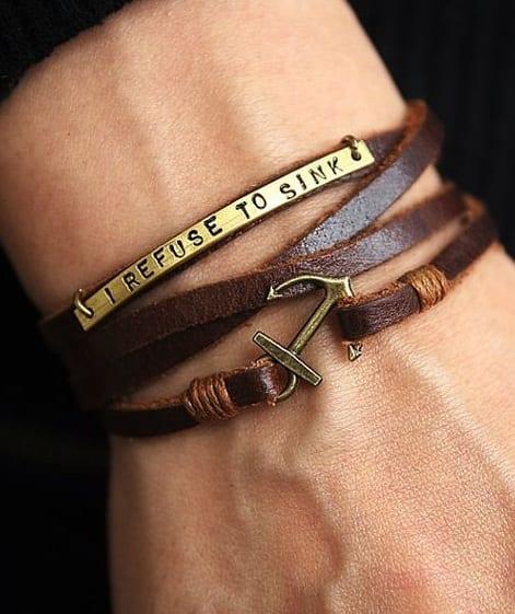 Bracelet à ancrage personnalisé