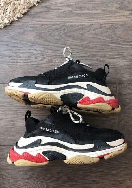 Ugly Balenciaga Sneakers for Men