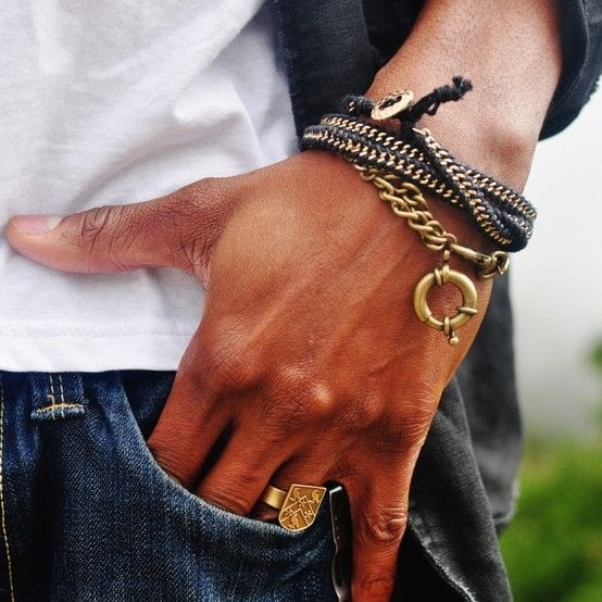 Zipper-Brass-Chain-Bracelet-Perfect-and-a-stylish-look-1