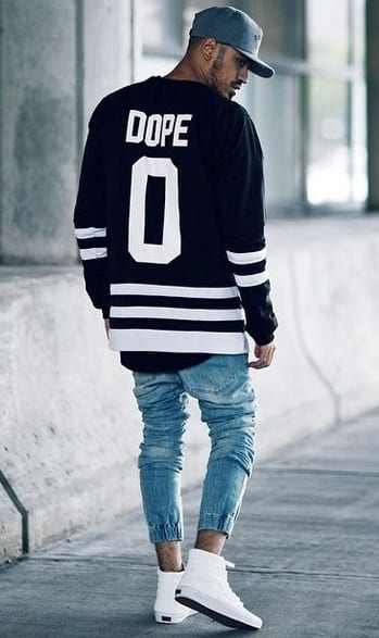 black-dope-jersey-like-sweatshirt-for-men-to-pair-their-denims-and-white-high-top-sneakers-with.