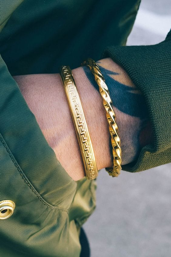 or bracelet pour les personnes-à-porter