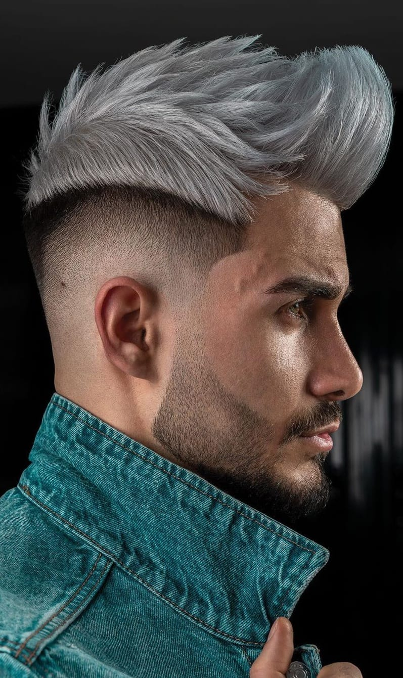 Spiky Fade Haircut 2020 for Men