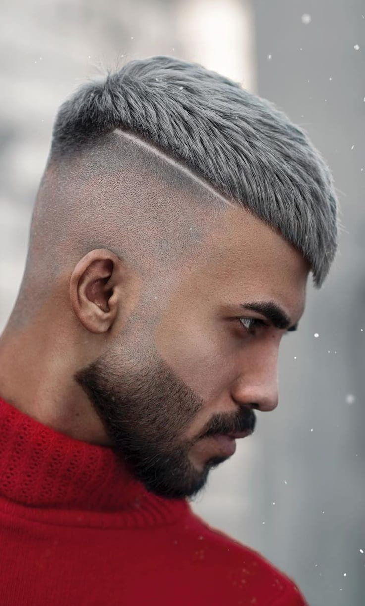 Trendy Skin Fade Haircut for Men