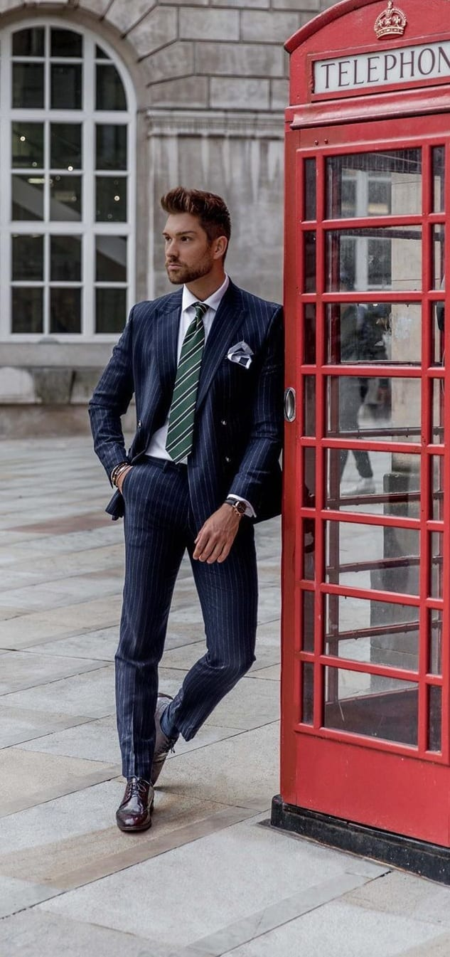 Business Suit with Tie Ideas for March