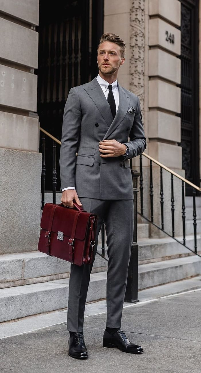 Grey Business Suit Ideas for March