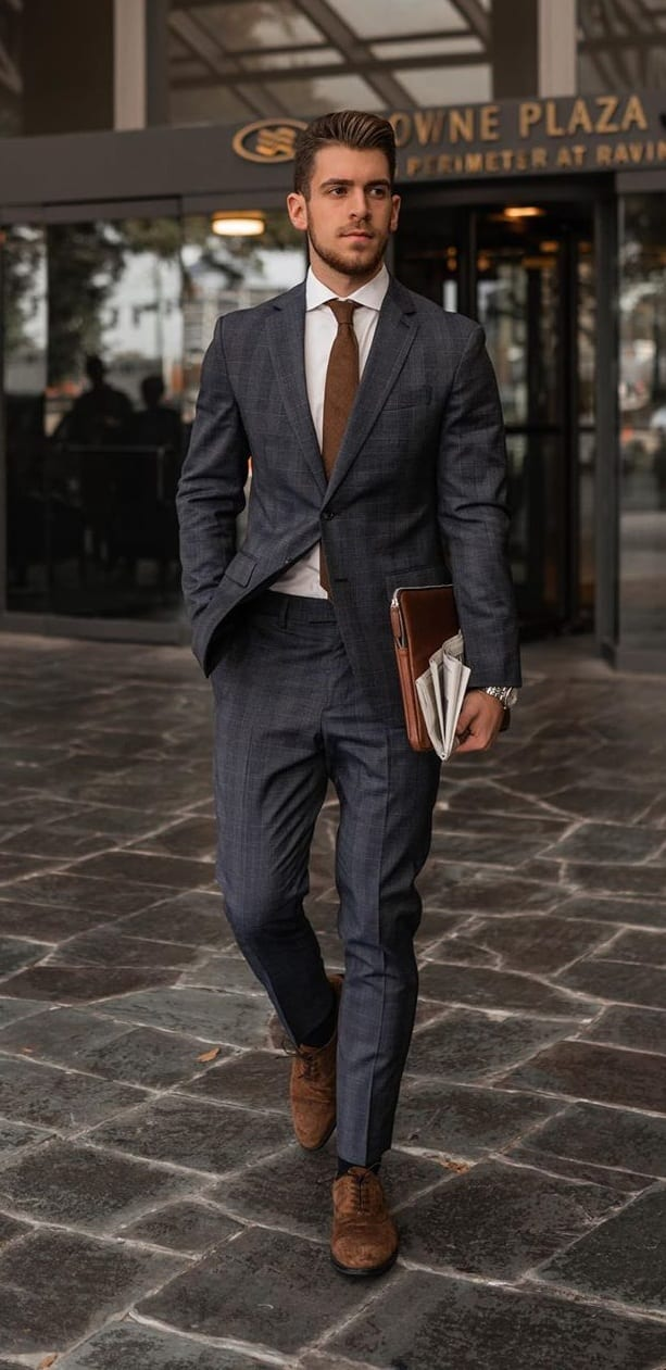 Mens Formal Suit Outfit Ideas for March