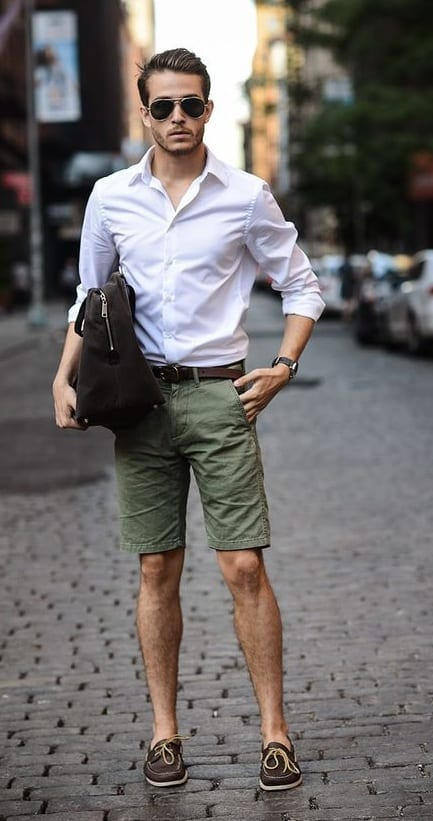 Shirt-Shorts- Outfit-Ideas-For-Working-From-Home