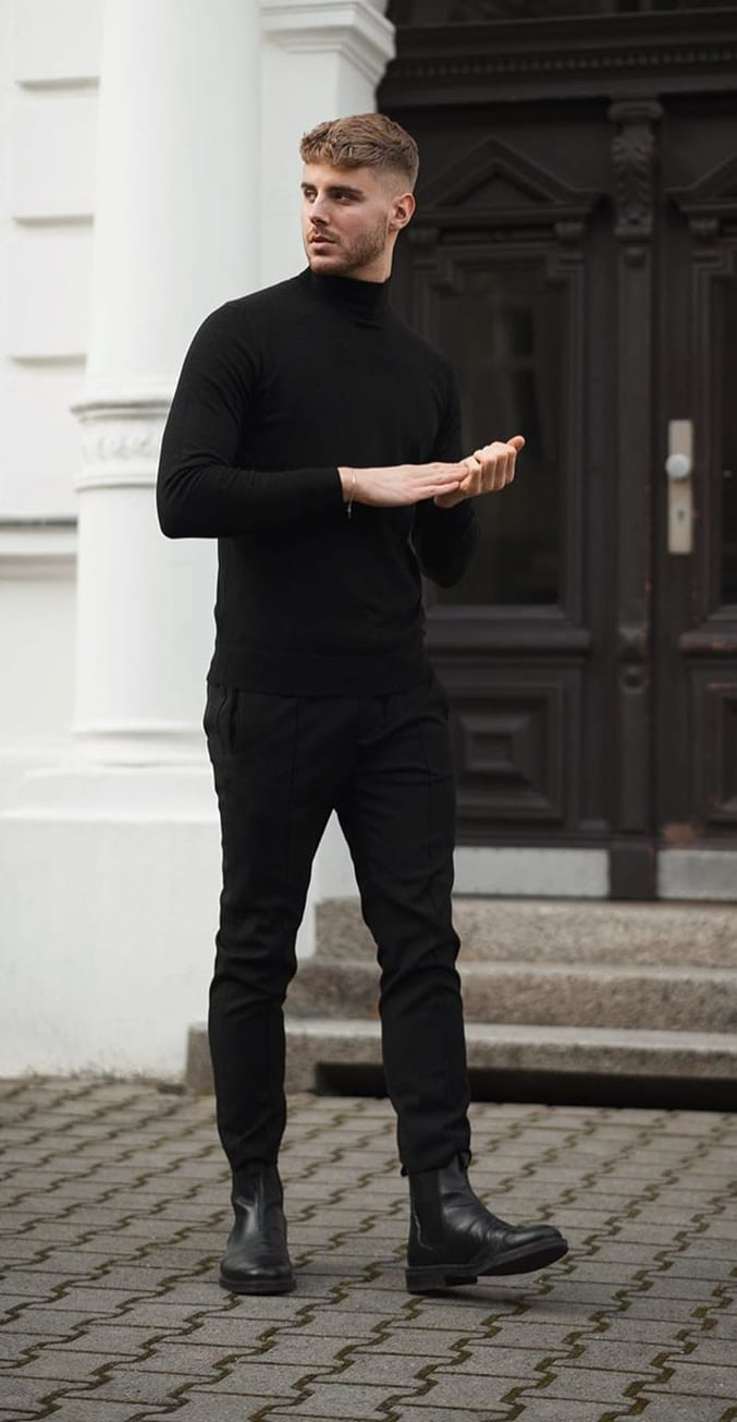5 Ways To Pull Off All Black Like A Pro