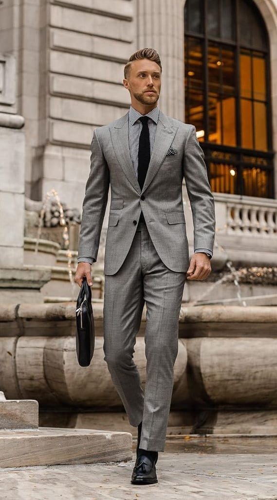 Grey Suit Ideas - How to Dress in Your 20's