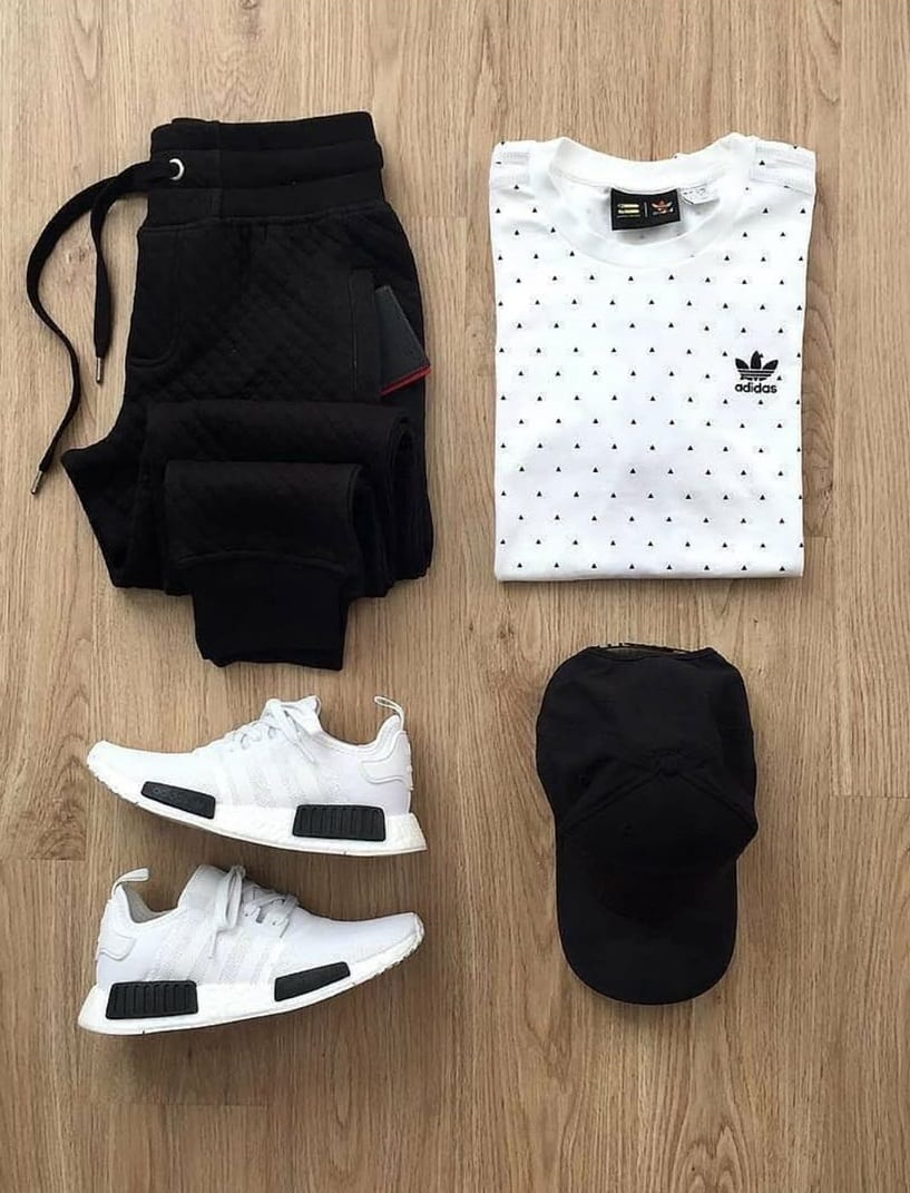Summer outfit grid