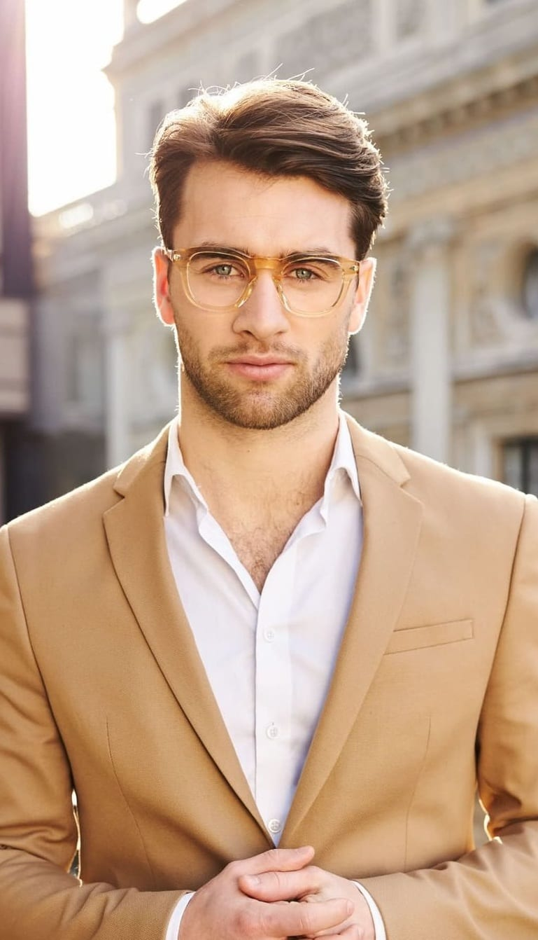 10 Stylish Eyeglasses for Men
