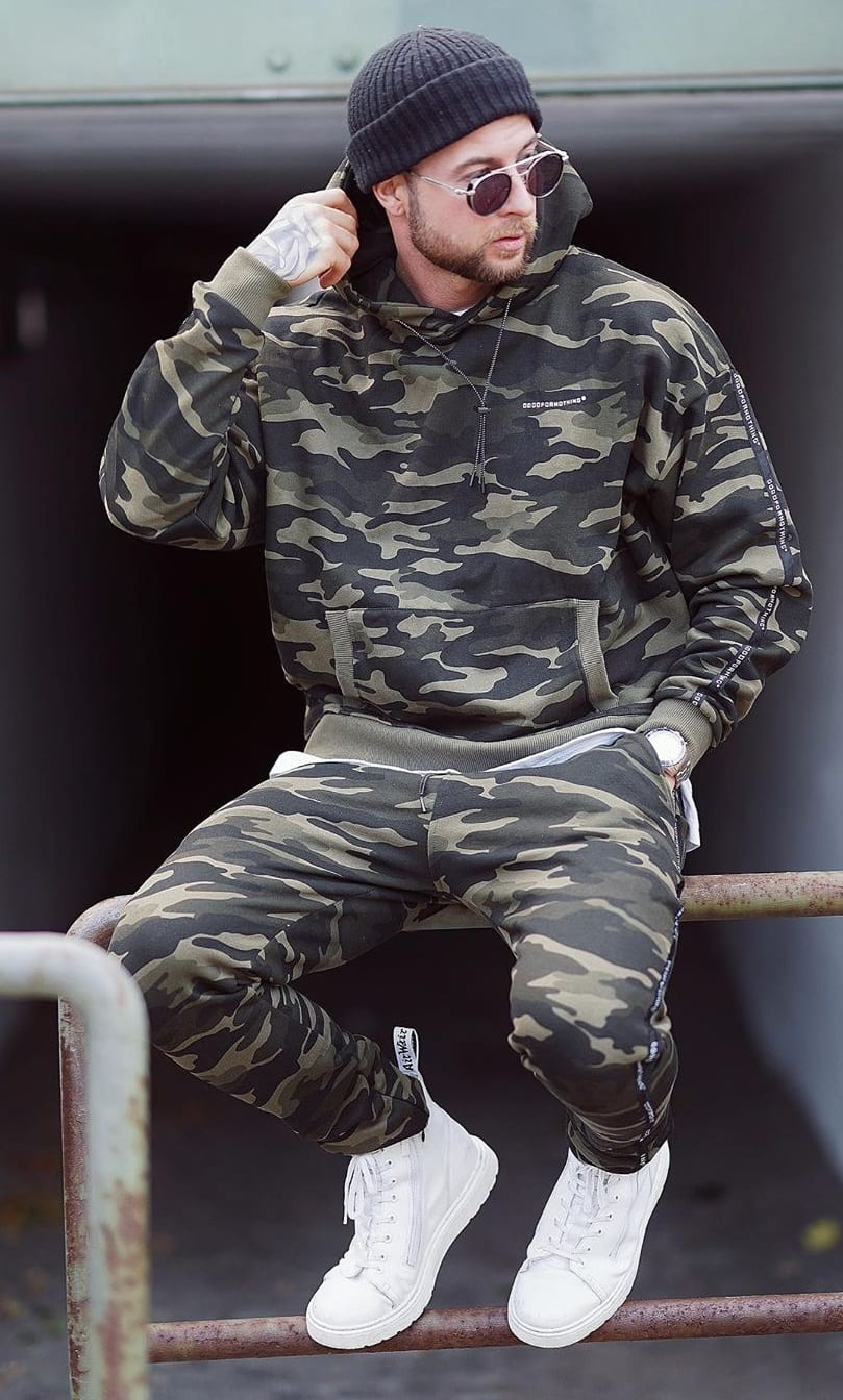Camouflage Outfit Ideas for Men