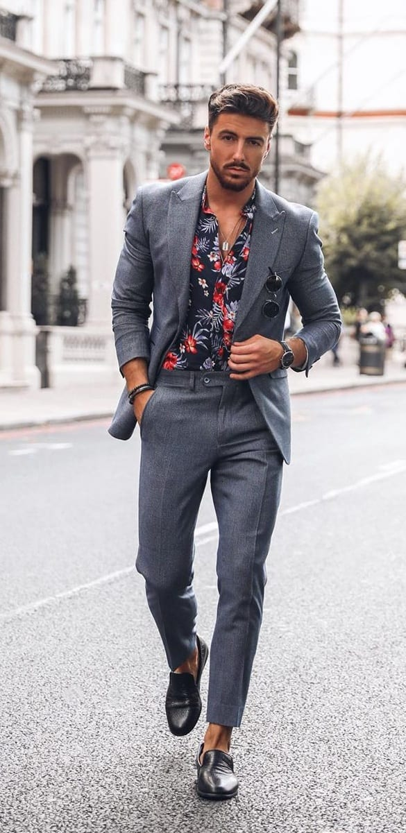 Casual Suit Outfit Ideas for Men