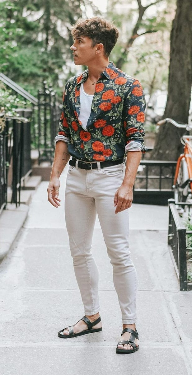 10 Amazing Floral Prints for Men