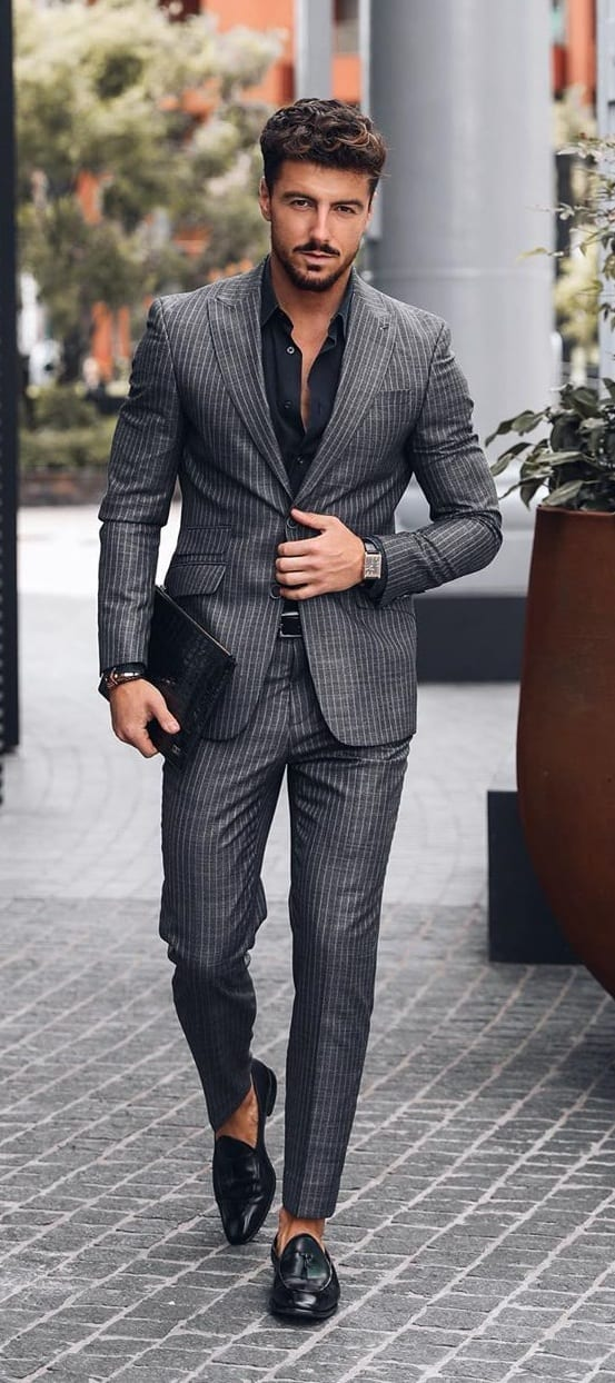 Dapper Grey Suit Ideas for Men