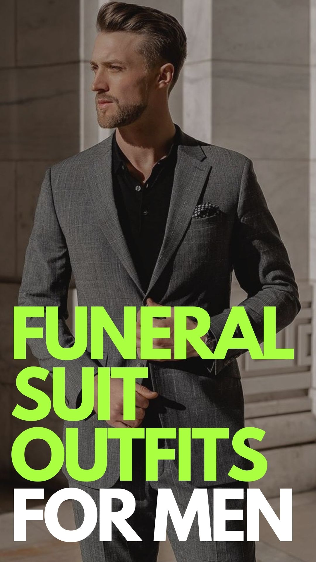 Funeral Suit Outfits For Men