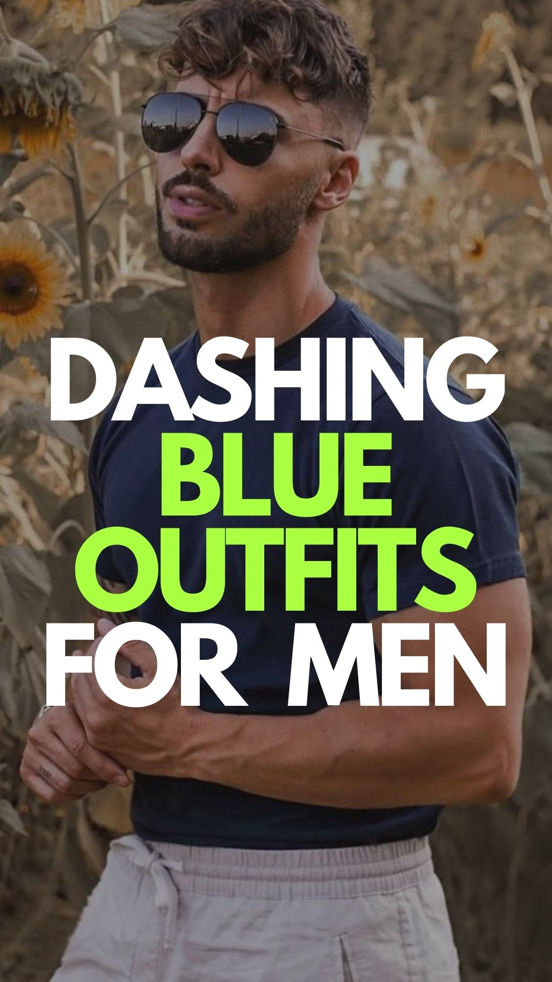 Dashing Blue Outfits For Men