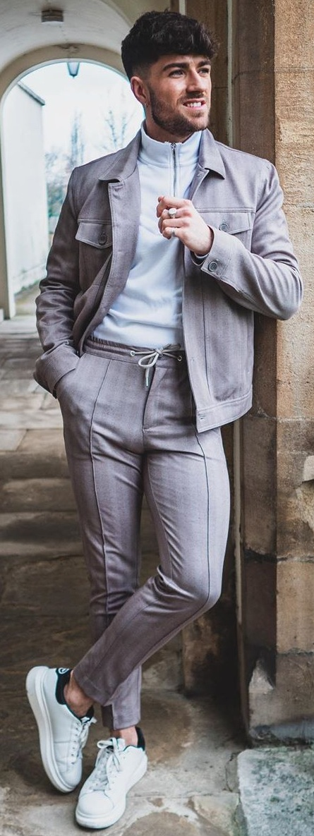Downstring Trousers Style for Men