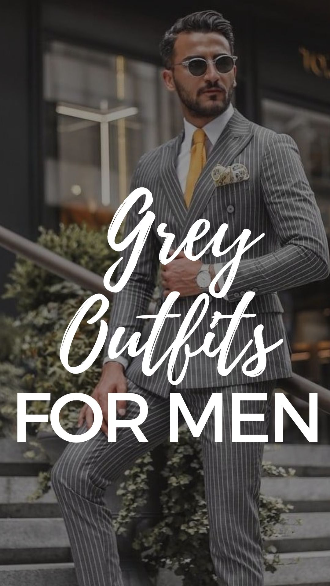 Grey Outfit Ideas for Men