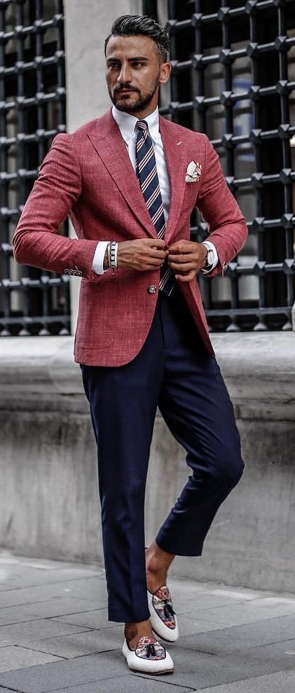 Blazer Outfits for Men