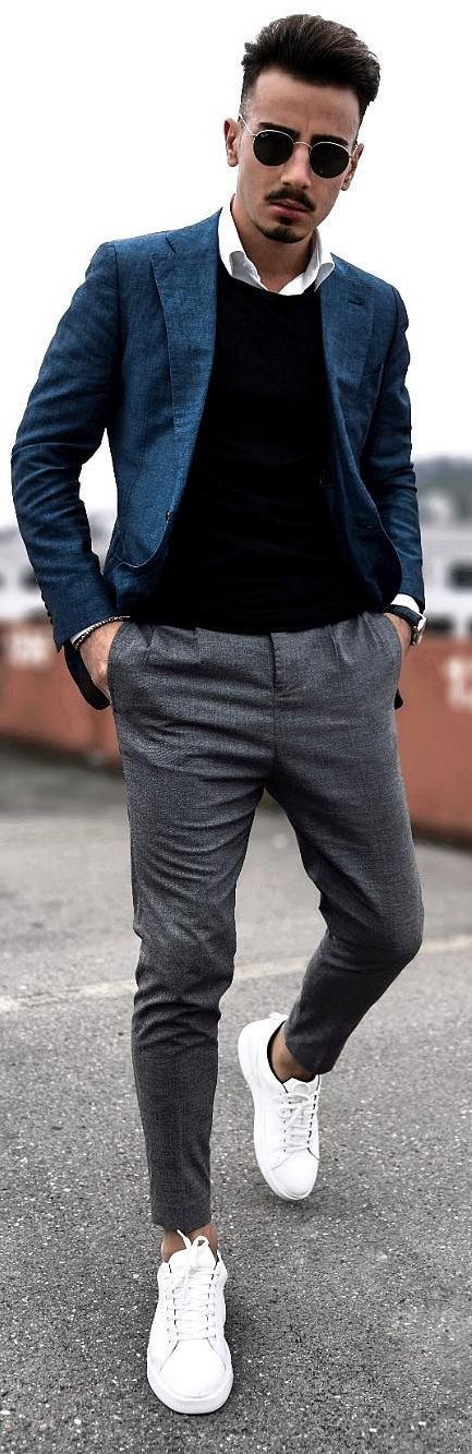 How to Rock the Casual Blazer Outfits