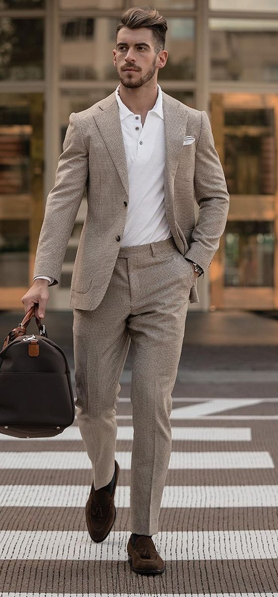 Casual Suit Styling 2021