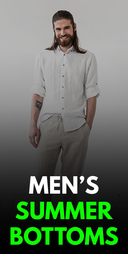 Mens Summer Bottom Outfits