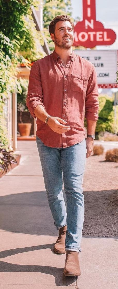 Linen Shirt Outfit Ideas