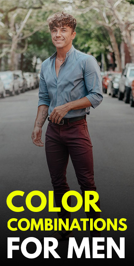 Color Combinations for Men