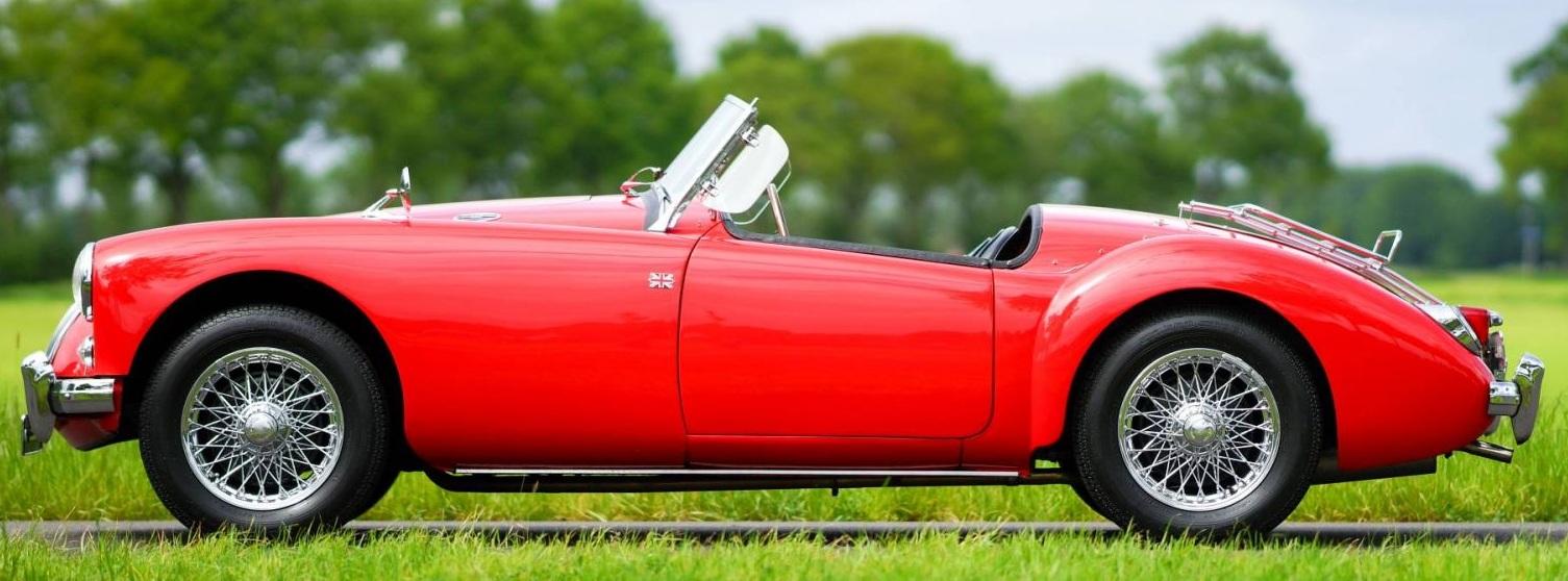 MG MGA- Hottest Vintage Car