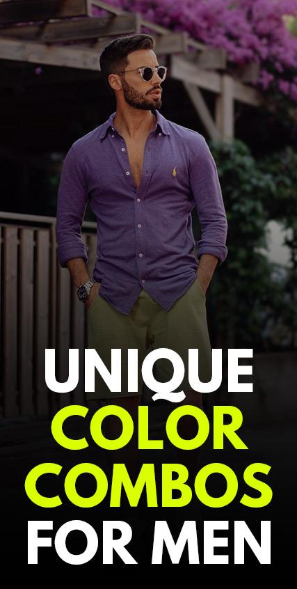 Unique Color Combos for Men
