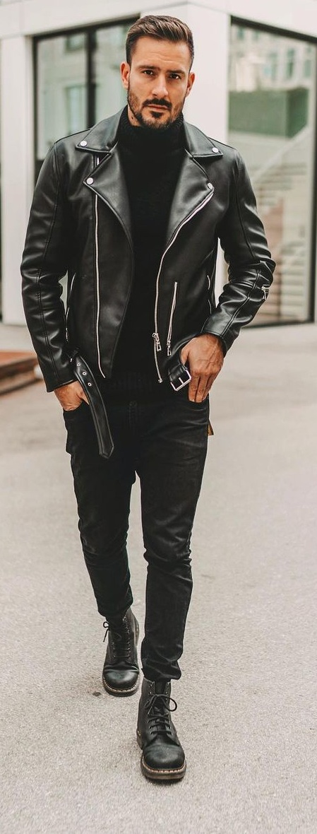 Biker- Motorcycle Jacket To Protect You From Harm and Keep You Stylish Too