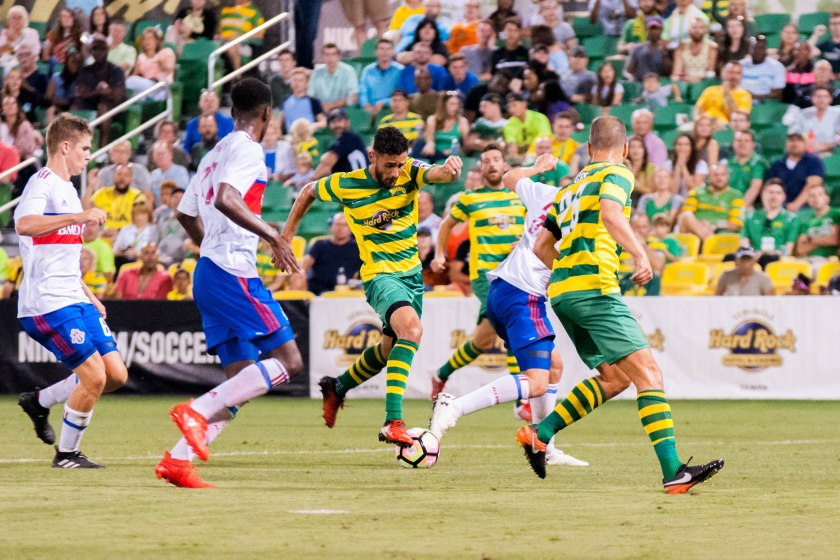 Rowdies Facing a Familiar Foe for First Match Against an Independent USL Team