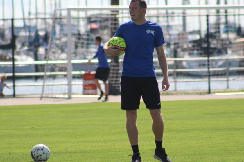 Collins Focused on Changing Rowdies' Mindset