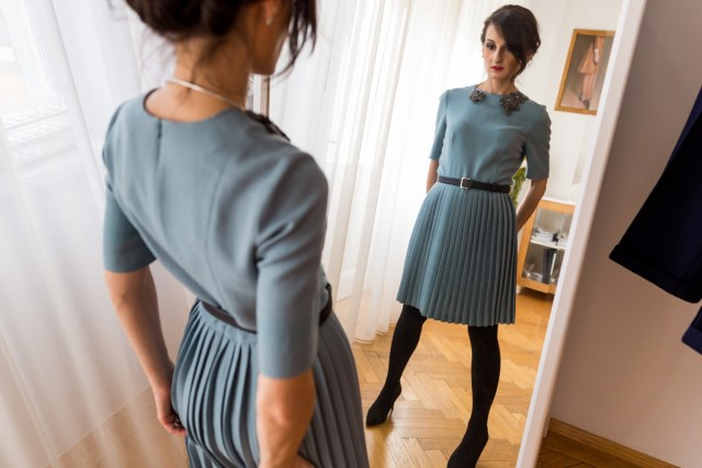 Chemistry of an office dress, theurbandiva style blog, office style