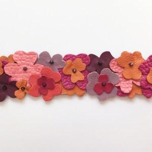 accesoriu geanta piele flori rose mydreambag sashaccessories