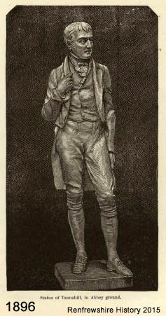 Tannahill-Statue