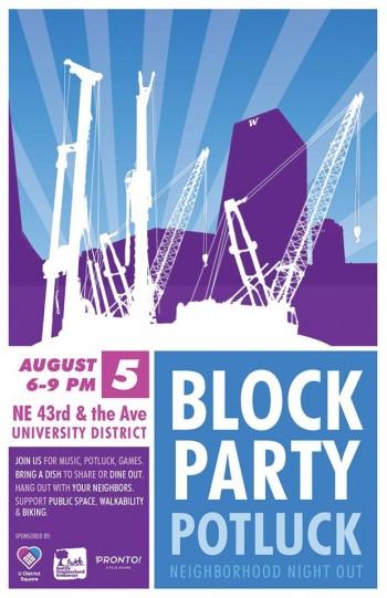 U Distrct Block Party