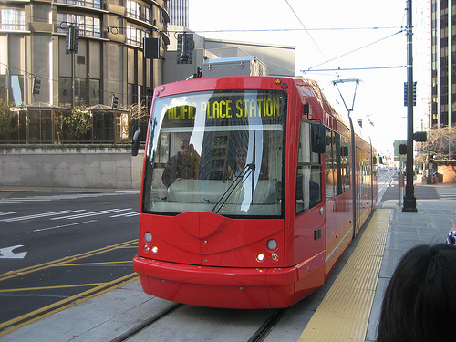Seattle Streetcar SLU